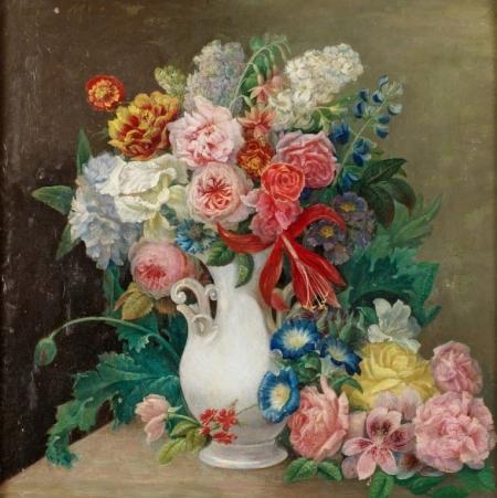 Плакат Ваза с цветами