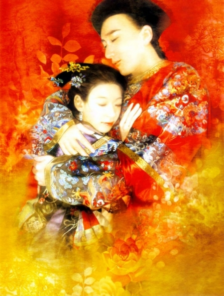 Постер на подрамнике Любовь. Дер Джен