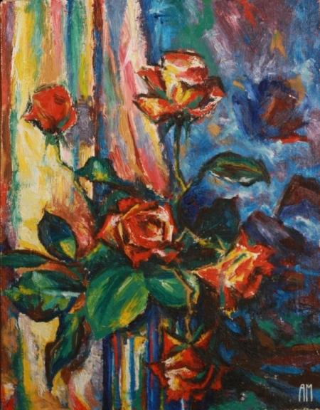 Постер на подрамнике Розы