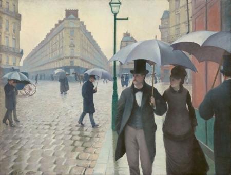 Постер на подрамнике Улицы Парижа. Гюстав Кайботт