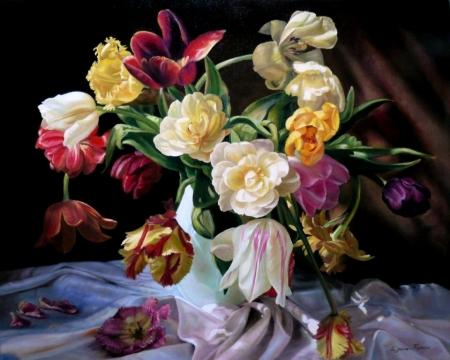 Плакат Цветы