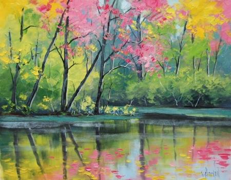 Постер на подрамнике Осень. Пейзаж