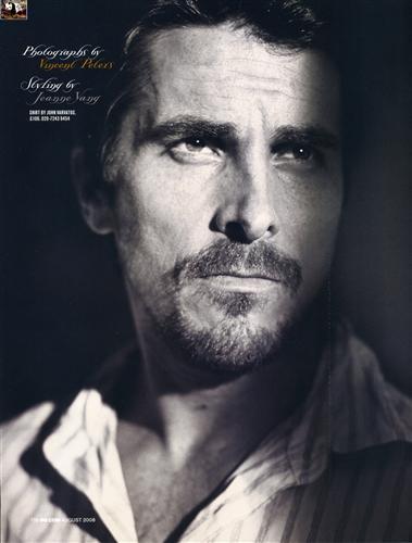 Постер (плакат) Christian Bale - Кристиан Бэйл
