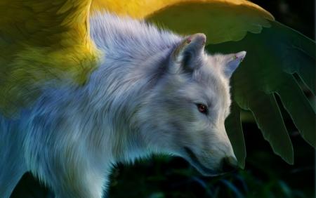 Постер (плакат) Волки