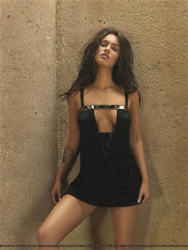 Постер на подрамнике Megan Fox - Меган Фокс