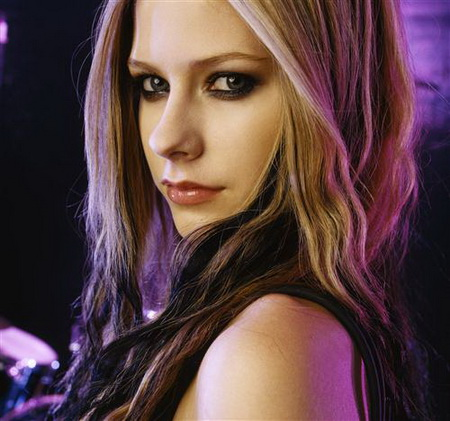 Постер на подрамнике Avril Lavigne - Аврил Лавин