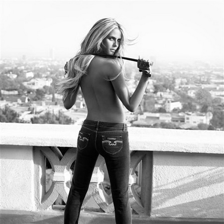 Постер на подрамнике Heidi Klum - Хайди Клум
