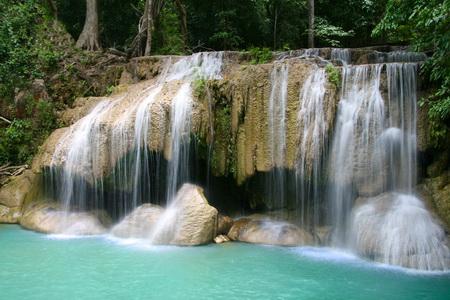 Постер (плакат) Каскад водопадов