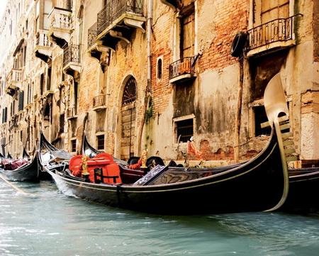 Постер на подрамнике Italy Venice in Grunge Styl