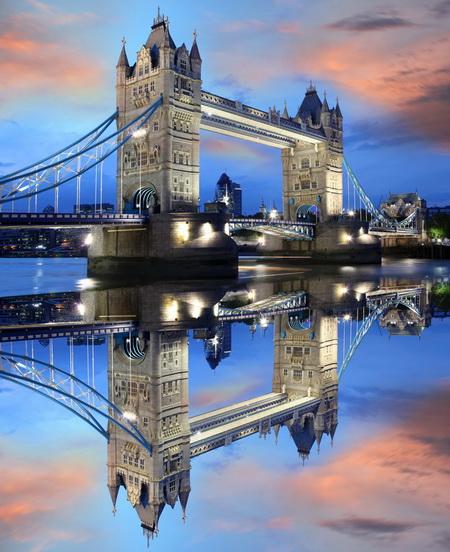 Постер на подрамнике Тауэрский мост в Лондоне