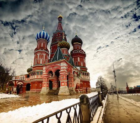 Постер на подрамнике Москва Храм