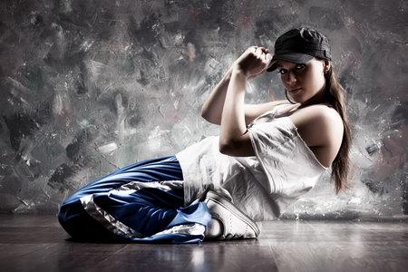 Постер на подрамнике dance