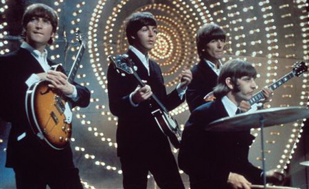 Постер на подрамнике Beatles - Битлз