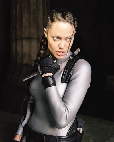 Плакат Angelina Jolie - Анжелина Джоли