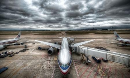 Постер на подрамнике Самолеты