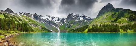 Постер на подрамнике Озеро панорама