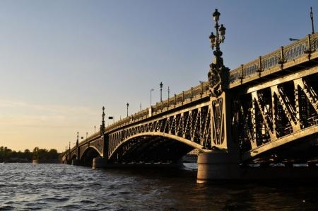 Постер на подрамнике Мост в Санкт-Петербурге