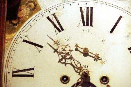 Плакат Часы