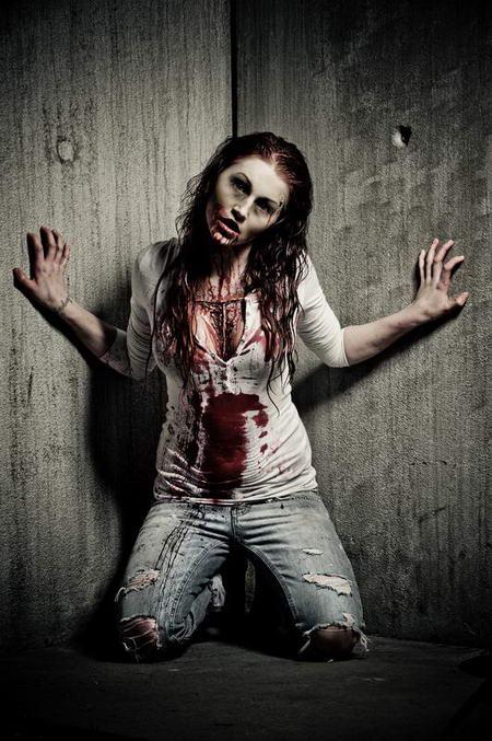 Постер на подрамнике Вампирша