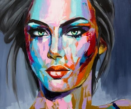 Модульная картина Красивая девушка арт