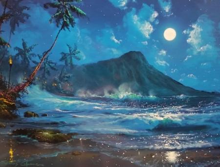 Постер на подрамнике Пляж
