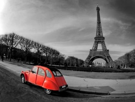 Постер на подрамнике Эйфелева башня в Париже