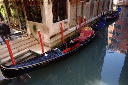 Постер (плакат) Венецианская гондола