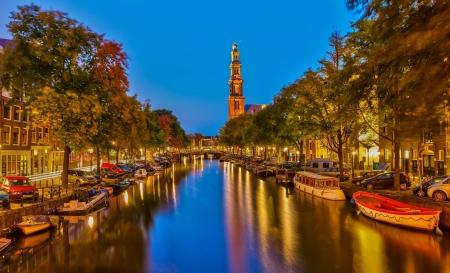 Постер на подрамнике Амстердам