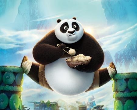 Постер (плакат) Кунг-фу панда