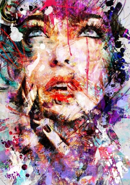 Плакат Арт. Лицо девушки