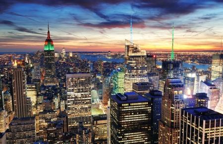Постер (плакат) Вечер над Нью-Йорком