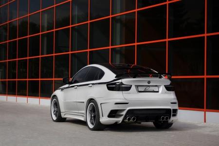 Плакат BMW X6 белый
