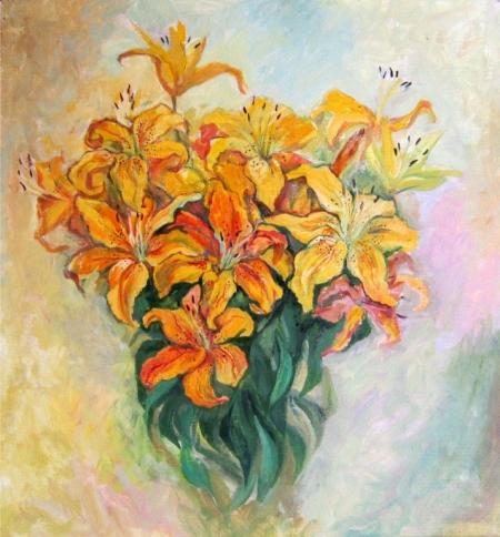 Постер на подрамнике Букет цветов