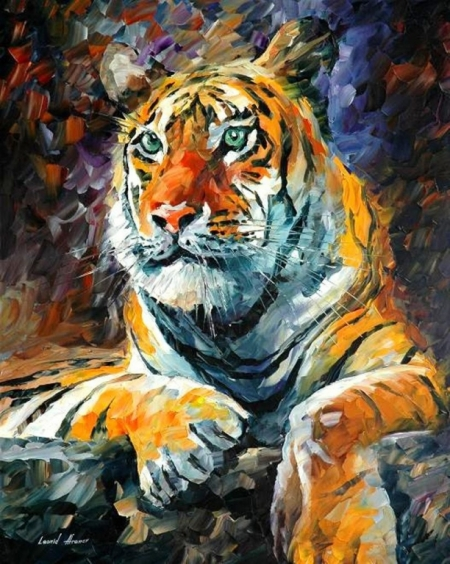 Постер на подрамнике Тигр