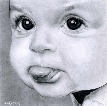 Постер на подрамнике Ребенок