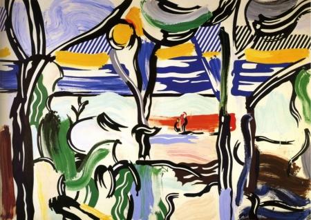 Картина Рой Лихтенштейн. Поп-арт