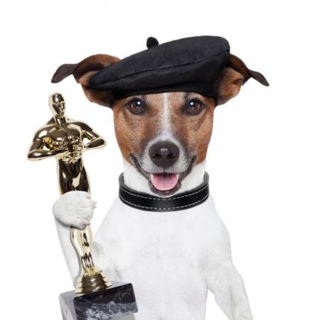 Постер (плакат) Собака получила премию  Оскар