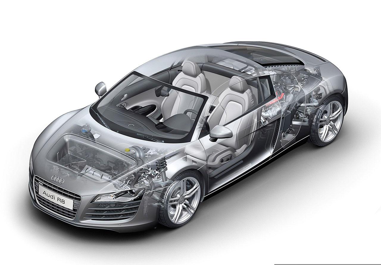Плакат Audi-92