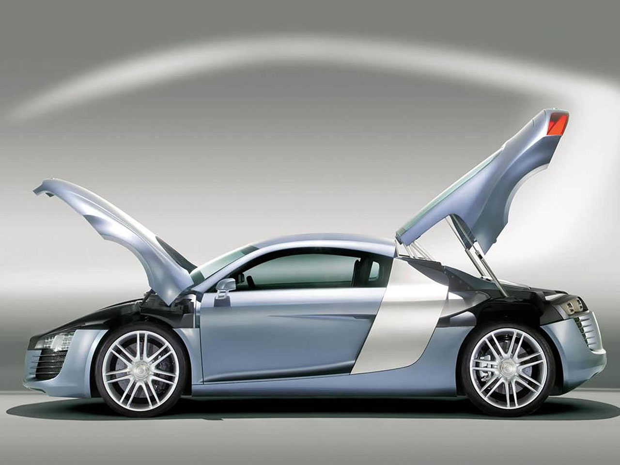 Плакат Audi-140