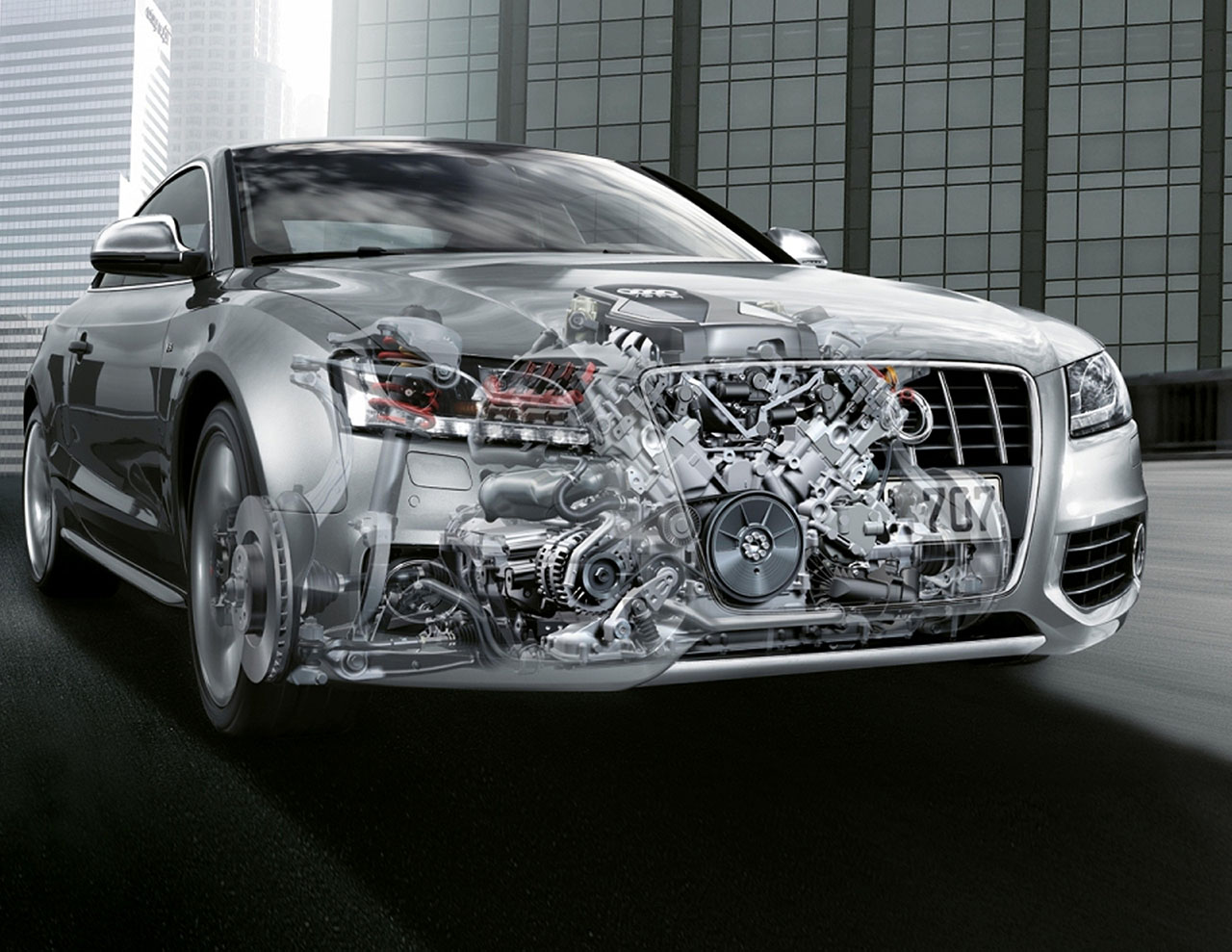 Плакат Audi-156