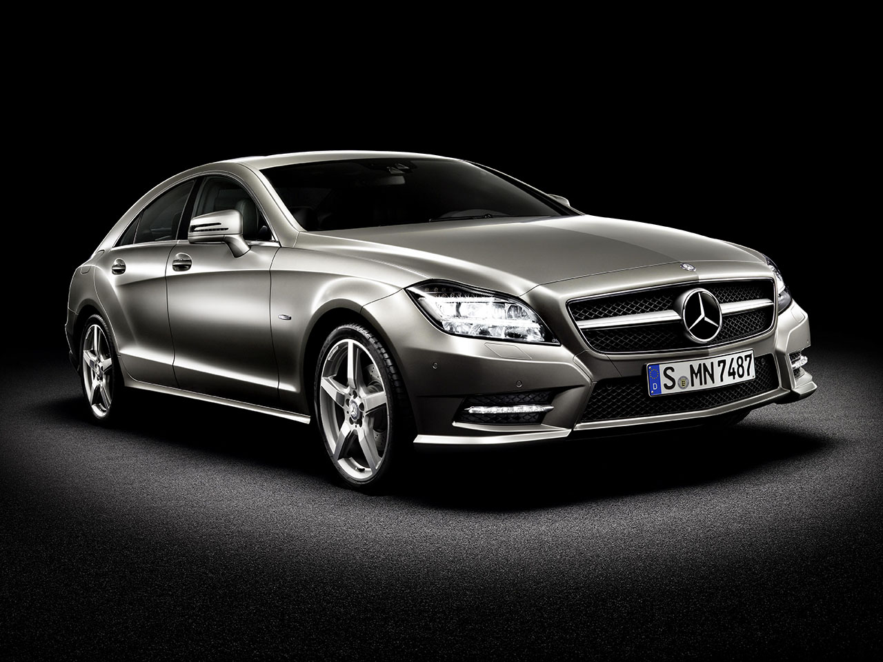 Постер на подрамнике Mercedes-192