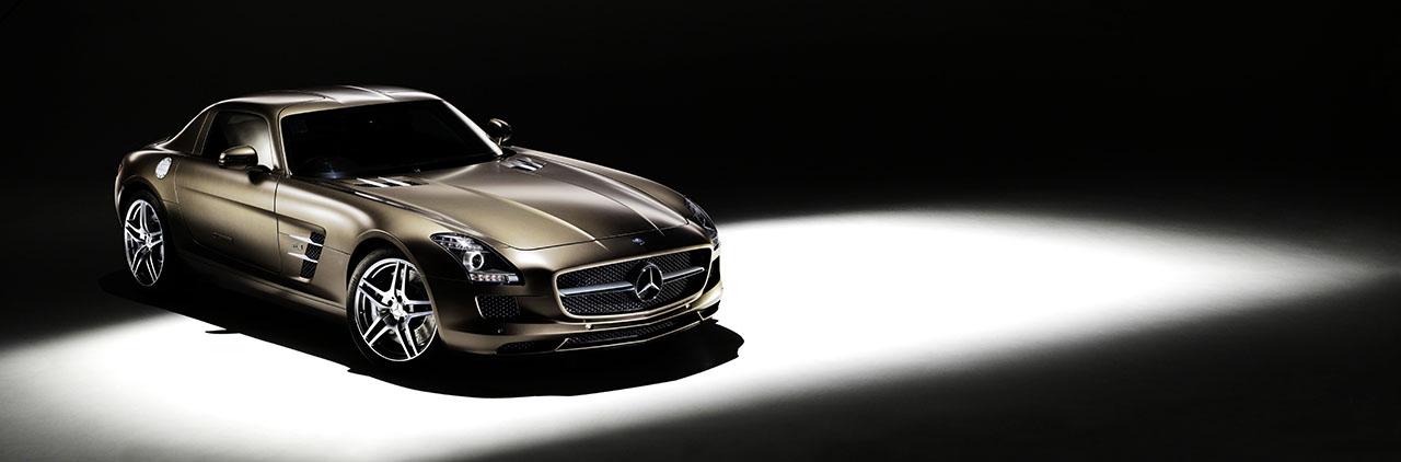 Постер на подрамнике Mercedes-197