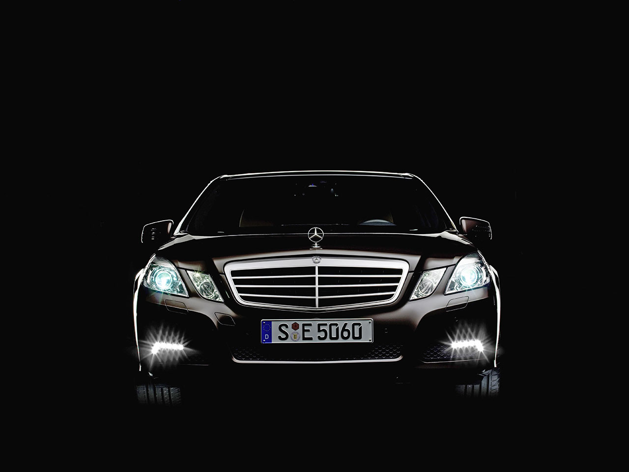 Плакат Mercedes-325