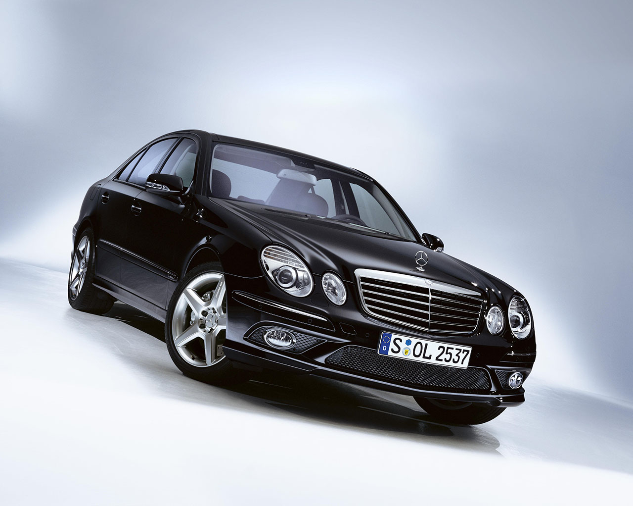 Плакат Mercedes-390