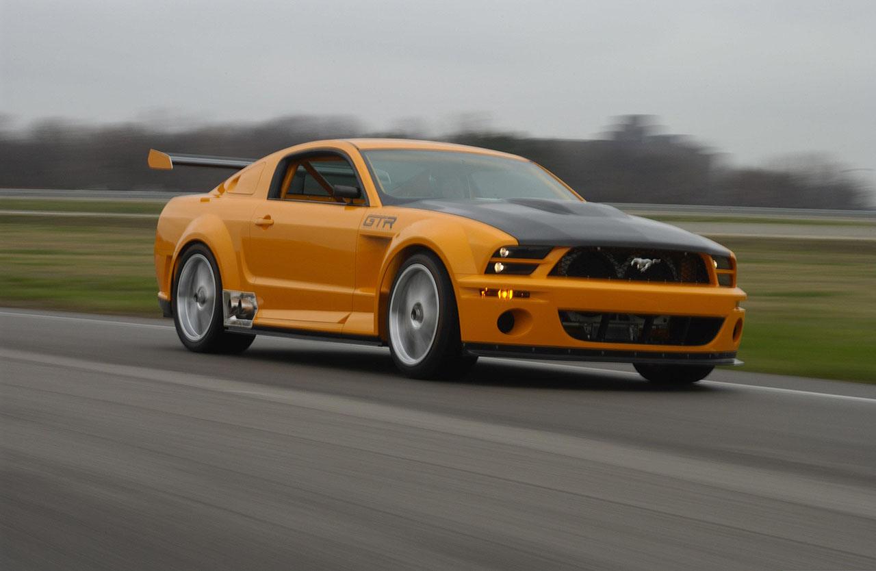Постер на подрамнике Mustang-19