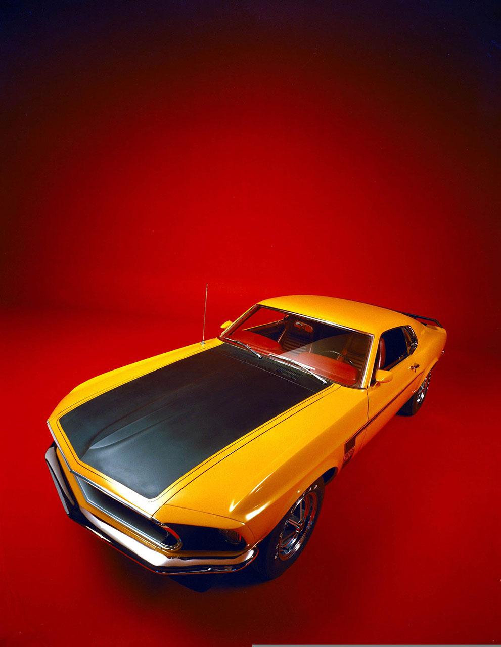 Постер на подрамнике Mustang-32
