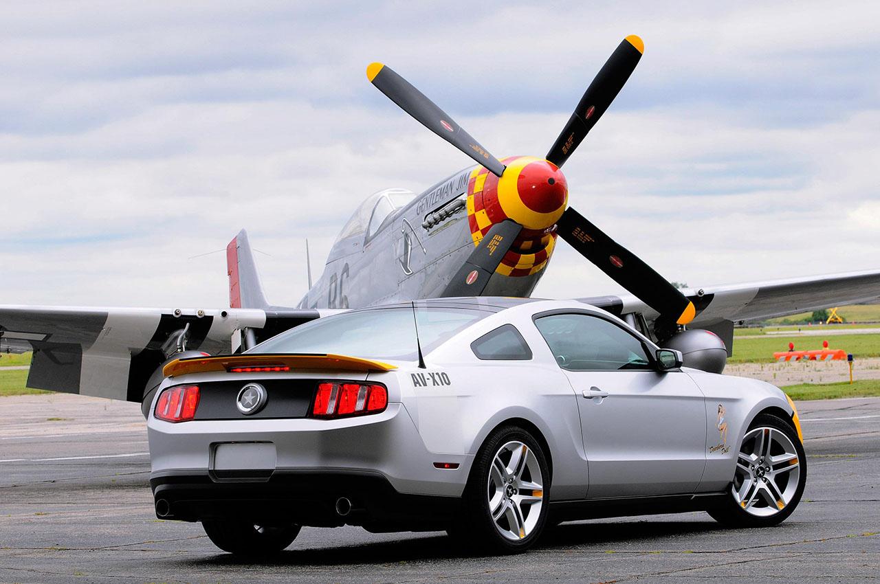 Постер на подрамнике Mustang-35