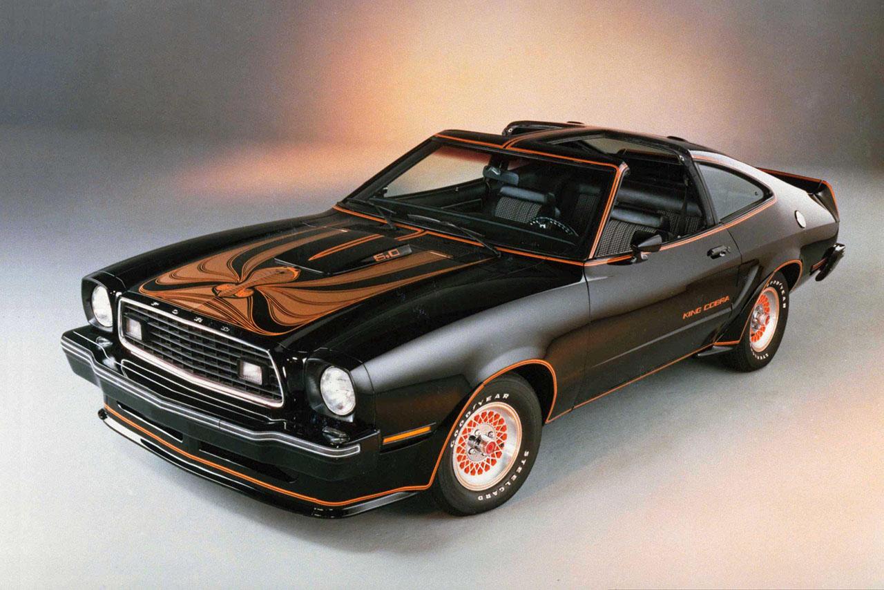 Постер на подрамнике Mustang-63