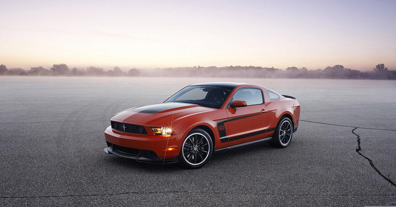 Плакат Mustang-72
