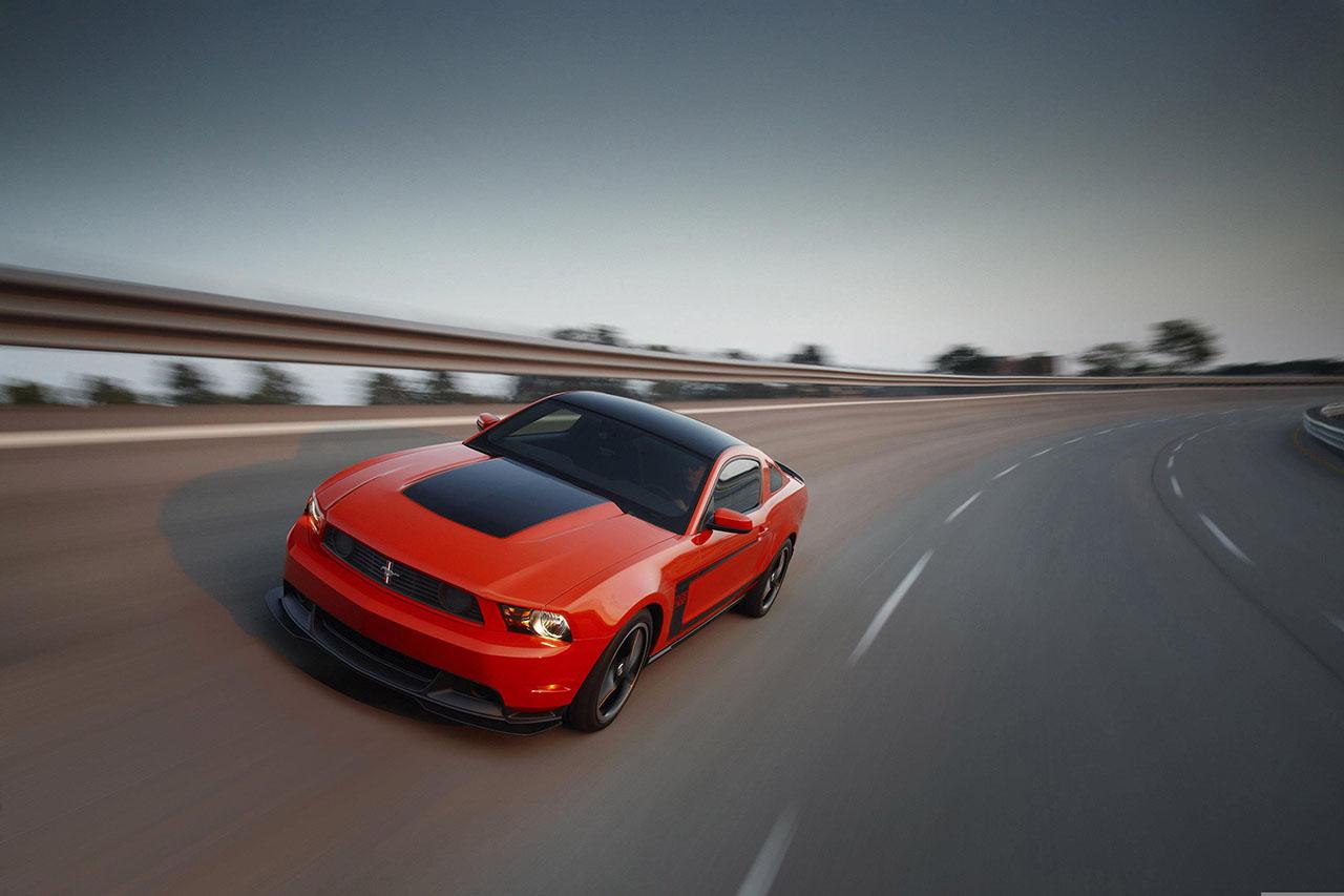 Постер на подрамнике Mustang-75